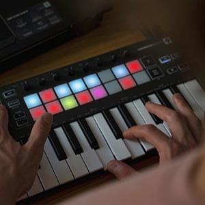 launchkey midi melodies and rhythms