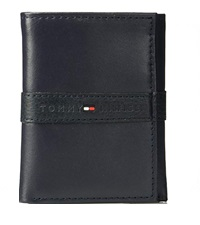 trifold tommy hilfiger RFID mens leather wallet