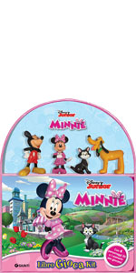 Minnie. Libro gioca kit. Con gadet