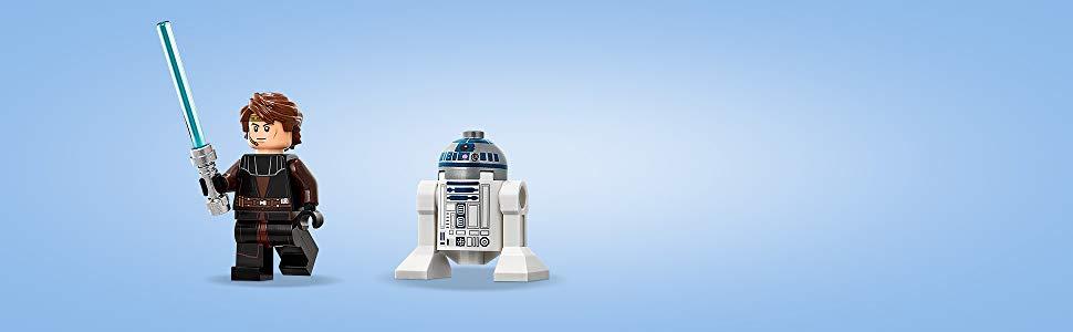 Inclut une figurine d'Anakin Skywalker!