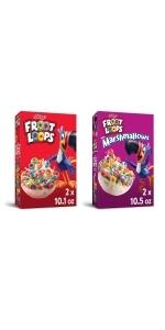 Froot Loops Breakfast Cereal, Variety Pack (Pack of 4)