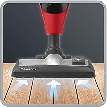 Alte prestazioni per una pulizia ottimale, in particolare sui pavimenti duri
