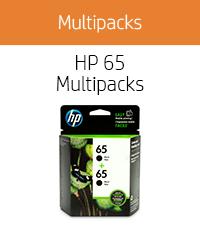 Generic HP 65 ink cartridges black dual