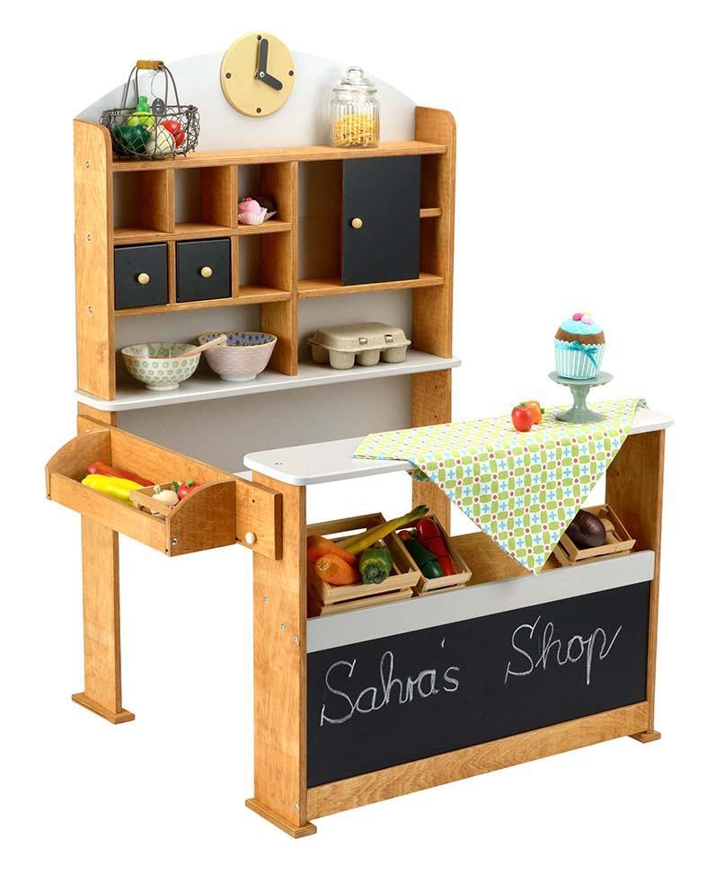 beluga spielwaren 30864 vintage kaufladen. Black Bedroom Furniture Sets. Home Design Ideas