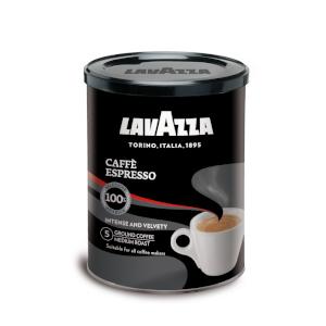 Lavazza Café Molido Caffè Espresso, 100% Arábica, Lata de 250 g ...