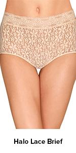 Wacoal Halo Lace Brief Panty