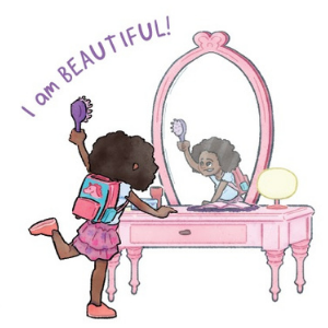 self-esteem self-worth black girl magic zahra bryan kid author anti-bullying bully