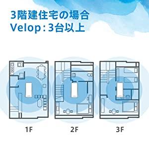 3階建て住宅の場合
