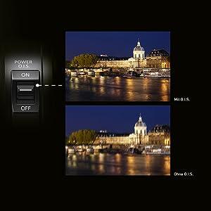 Optischer Bildstabilisator O.I.S. – extrem scharfe Fotos