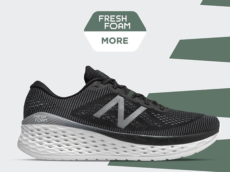 Men/'s New Balance Fresh Foam More Running Shoes MMORDO Grey Size 12 2E-Wide