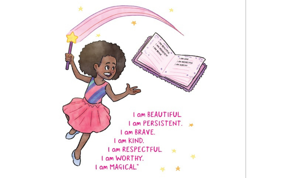 zahra bryan black girl magic book by kids resilience affirmations loving yourself anti-bullying kids