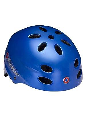 8729ac2672d Amazon.com : Razor V-17 Child Multi-Sport Helmet, Geo Helmet ...