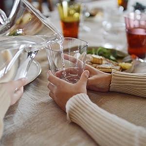 食卓のなかのゆらぎタンブラー