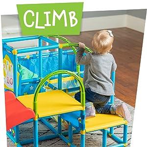 Climb: ball pit, gym, balls, NSG
