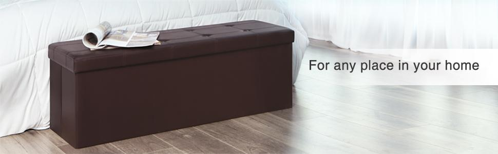 Groovy Highly Rated Folding Ottoman Storage Bench 32 69 Today Only Spiritservingveterans Wood Chair Design Ideas Spiritservingveteransorg
