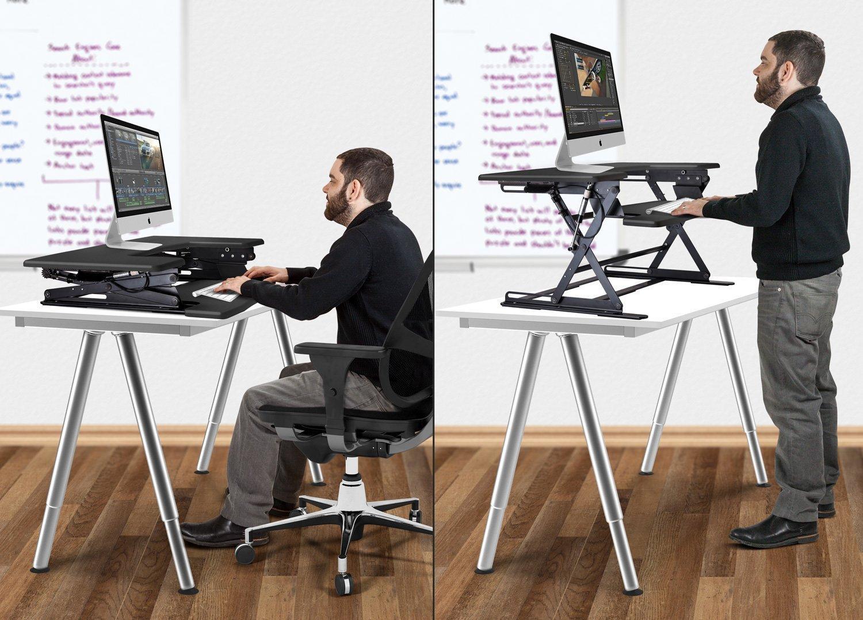 Amazon.com : Halter ED-600 Preassembled Height Adjustable ...