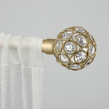 curtain rods, decorative curtain rods, double curtain rods, curtain rods for long window