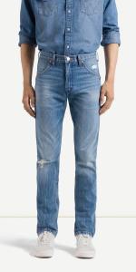 Wrangler Jeans Slim Tapered Larston Modelo W18S 21 25B