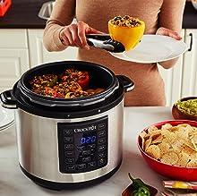 Crock-Pot,Pressure Cooker,Presure,Multi-Cooker,Slow-Cooker,Large,Digital