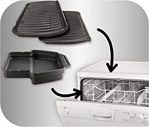 Dishwasher safe, OptiGrill+