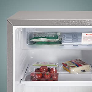 separate Freezer compartment
