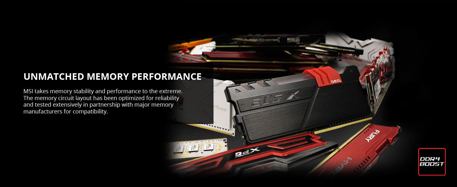 msi, mpg z490 gaming carbon wifi, ddr4 boost, memory, ram, dimm slot