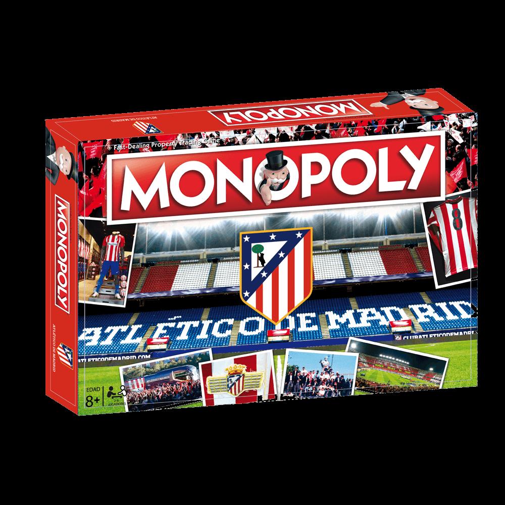 Monopoly Atlético de Madrid (Producto Oficial): Amazon.es: Deportes y aire libre
