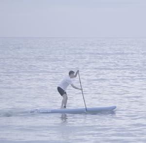 Perfecto para el paddle surf y carreras de alta velocidad