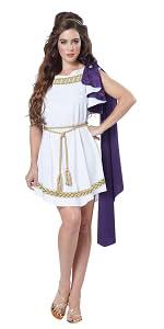California Costumes Womens Deluxe Classic Toga Tunic Costume