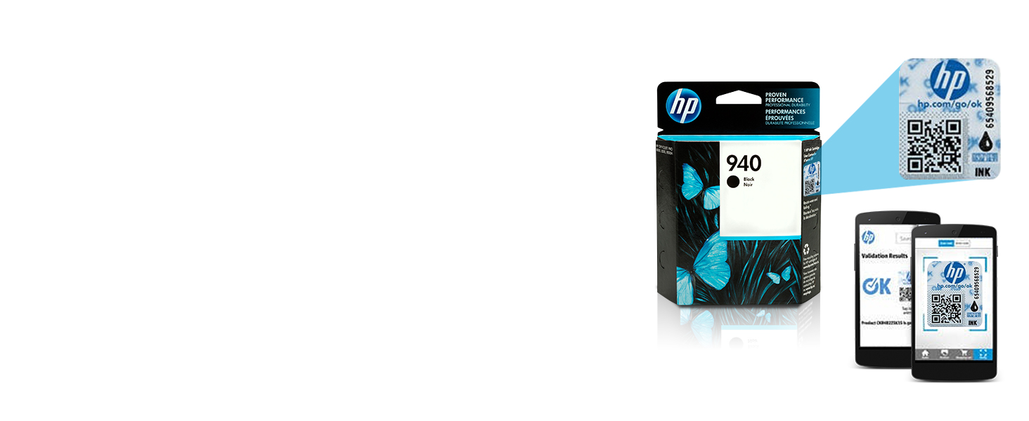 Hp 940 Black Original Ink Cartridge C4902an For Tinta 45 Color Tri Xl Combo Pack Cartridges Printer Hewlett Packard