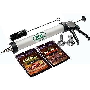 make jerky, jerky canister, jerky accessories, home processing, snack sticks, pepperoni