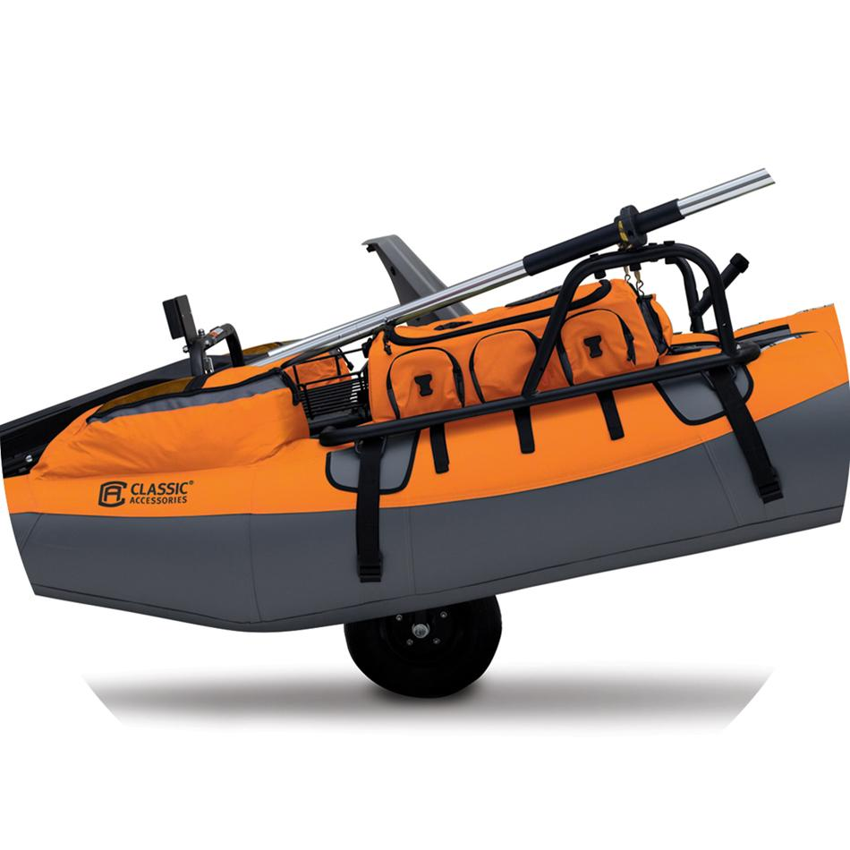 Classic Accessories Colorado XT Pontoon Boat, Pumpkin