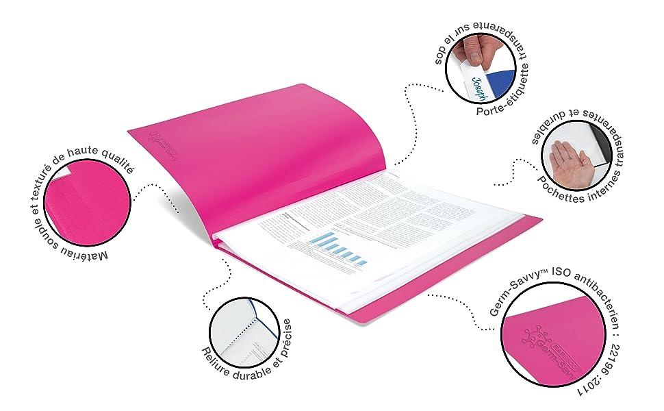 range lutin chemise projet farde folio bactericide antiseptique aseptisé aseptique germicide sain
