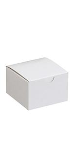 """3 x 3 x 2"""" White Gift Boxes"""