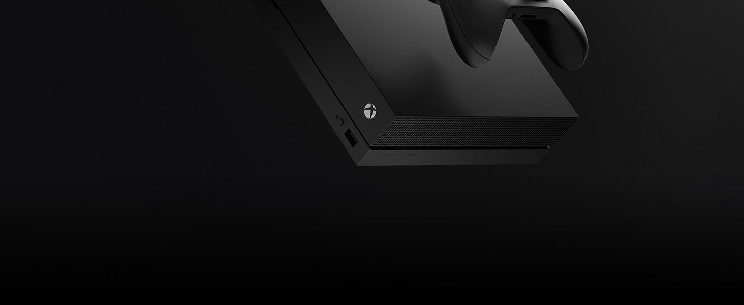 Microsoft Xbox One X - Consola 1 TB 4K HDR Negro: Microsoft: Amazon.es: Videojuegos