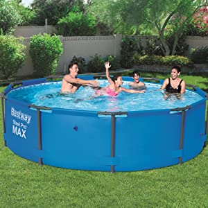 Bestway 56406 - Piscina Desmontable Tubular Steel Pro Max 305x76 ...