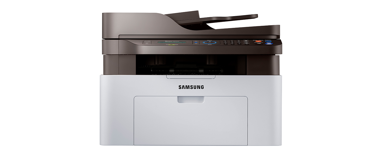 Samsung Xpress M2070FW Wireless Monochrome Laser Printer with Scan/Copy/Fax, Simple NFC + WiFi Connectivity (SS296H)