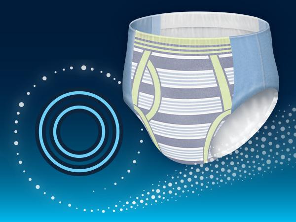 GOODNITES Underwear for Boys Large