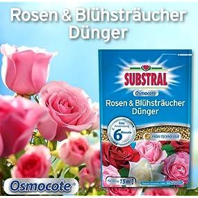 Substral Osmocote Rosen /& Bl/ühstr/äucher D/ünger 1,5 kg