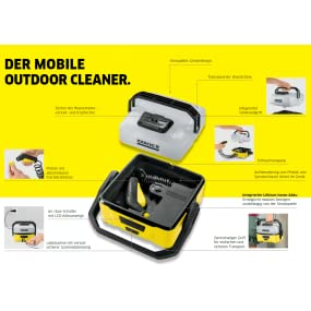 k rcher oc 3 mobile outdoor cleaner inkl zubeh rbox adventure druckreiniger mit lithium ionen. Black Bedroom Furniture Sets. Home Design Ideas