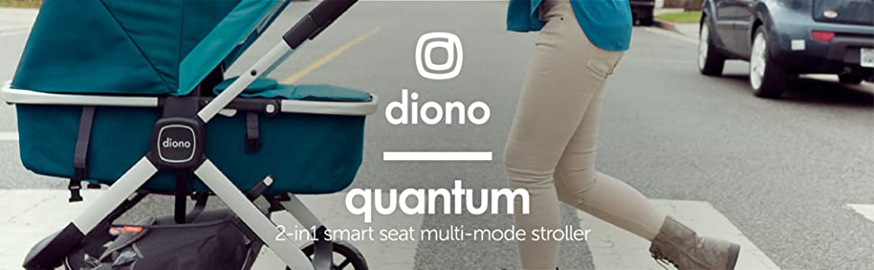 Diono Quantum 3-in-1 Multi-Mode Stroller