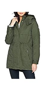 Levi's Women's Hooded Cotton Fishtail Anorak Jacket