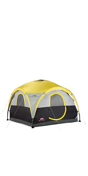 Coleman 10 x 10 Instant Wide Base Shelter · Coleman Point Loma Dome Sun Shelter 15 x 15 Feet · Coleman 2-For-1 All Day 4-Person Shelter u0026 Tent ...  sc 1 st  Amazon.com & Amazon.com: Coleman Compact Shade Shelter Blue/Lime: Sports u0026 Outdoors