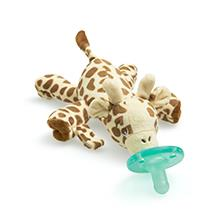 White SCD205//08 Philips AVENT Natural All in One Gift Set with Snuggle Giraffe
