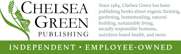 Independent, employee-owned, sustainable, Vermont, publishing, non-fiction, organic, health