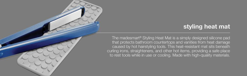styling heat mat