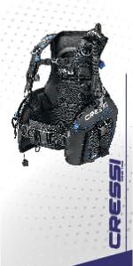 scuba diving vest, cressi gear, scuba diving gear, scuba vest, cressi vest