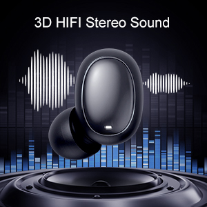 true wireless, stereo sound
