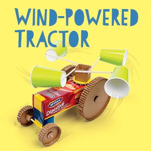 Wind-Powered Tarctor