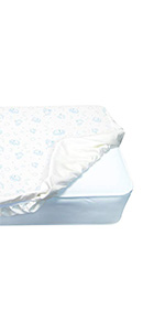 serta fitted crib mattress pad baby infant